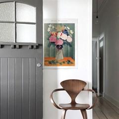 패브릭 포스터 꽃 그림 빈티지 일러스트 액자 앙리 루소 1