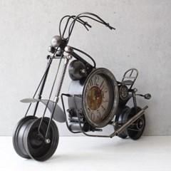 레트로 오토바이 시계 (3color)_(1627038)