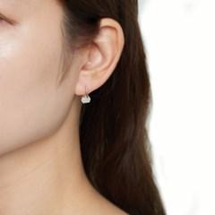 호마이카 원석 포인트 귀걸이