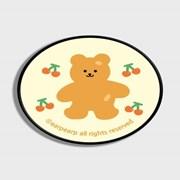 Four cherry bear-Creamyellow(스마트톡)_(1184131)