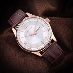 남성시계 가죽밴드 손목시계 패션시계 DS004