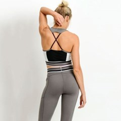 [monob]X Racerback Colorblock Sports Bra (AT2103)