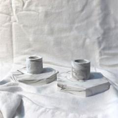 헥사곤 테이퍼 촛대