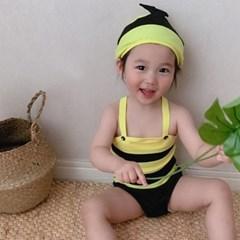 꿀벌 아동 수영복