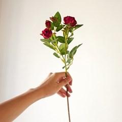 당신을 위한 특별한 선물 딥핑크 로즈 실크플라워 단품_(1307801)