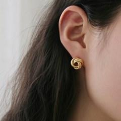 two line twist earrings (2colors)