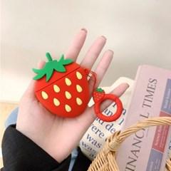 딸기 에어팟 케이스
