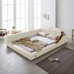 파로마 베일리 헤드레스트 저상형 침대 퀸(Q)_높은수납형