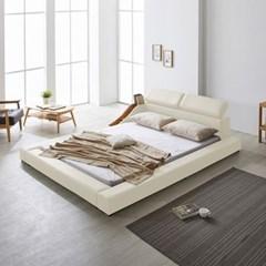 파로마 베일리 헤드레스트 저상형 침대 퀸(Q)_낮은수납형