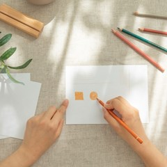 hobbyful 책상 위 나만의 공간 색연필 클래스
