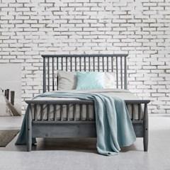 [리코베로]밀라노 북유럽 모던 원목 통깔판 침대 슈퍼싱글 3컬러