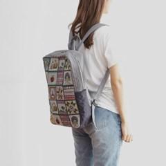 기저귀 가방 수납 백팩 스퀘어