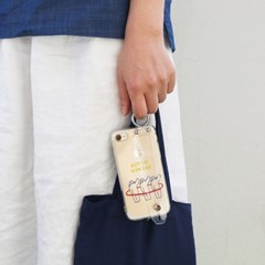 KIKI POPO GINGER 젤리 홀더 케이스 for i-phone 6/6s,7/8,X/XS