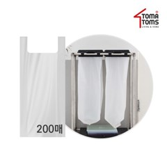 [토마톰스]하이드 분리수거함 전용비닐 100매 2개_(2055994)