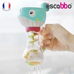[ESCABBO]에스까보 빙글빙글 회전고래 목욕놀이