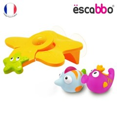 [ESCABBO]에스까보 두근두근 점프대 목욕놀이 3PCS