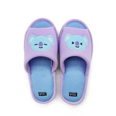 BT21 KOYA 코야 메쉬 슬리퍼 / 라인프렌즈 캐릭터