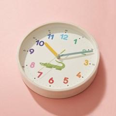 무소음 숫자공부 아동용 벽시계