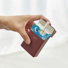 레더 담배 케이스 일반형 네이비_(895382)