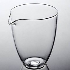 모던 글라스 숙우 유리잔 1개