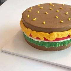 햄버거케이크