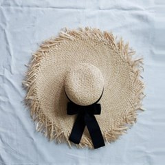 Natural Ribbon Sun Hat
