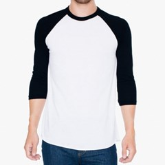 아메리칸어패럴 BB453W 7부 나그랑 티셔츠