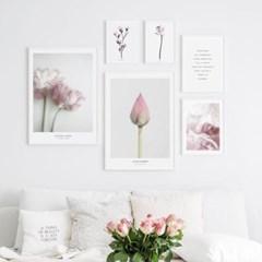 꽃 그림 액자 식물 인테리어 포스터 모음