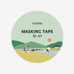 Masking tape 3p set - 03 Little forest