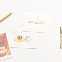 블랭크 인덱스카드 화이트 100매 - 4x6