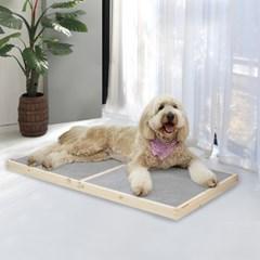 원목 강아지 고양이 쿨방석 여름방석 양면 침대 하우스
