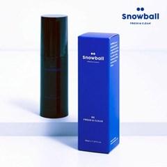 [무료배송] 스노볼 Snowball 국내최초 뿌리는 남성청결제 X2개