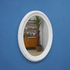 빈티지 타원형 벽거울 대 (2color)