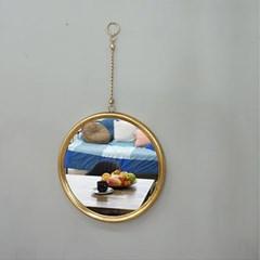 빈티지 체인줄 벽거울