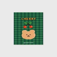 Cherry bear-green(엽서)_(1206797)
