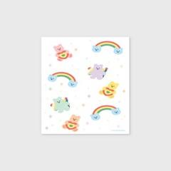 Rainbow bear-white(엽서)_(1206783)