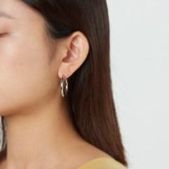 심플 링 귀걸이