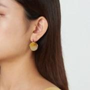심플 서클 미니멀 귀걸이