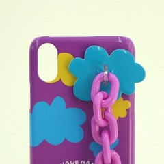 SUN CASE CANDY CHAIN PURPLE