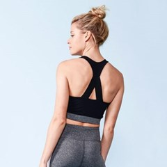 [monob]Triple Threat Cross Racerback Sports Bra (AT2_(2039429)