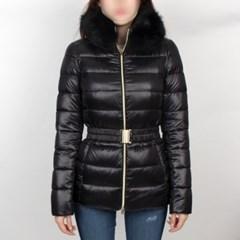 19FW 에르노 CLAUDIA 여성 폭스퍼 구스다운 자켓 (블랙) PI0485DIC12