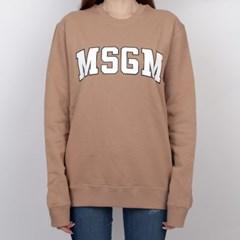 19FW MSGM 로고 맨투맨 (베이지/여성) 2741MDM63 799 23