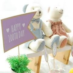 커플 DIY 파티세트 - 우리오늘100일