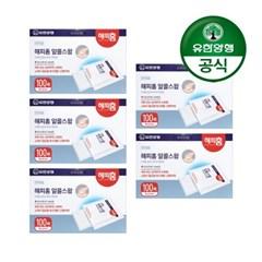 [유한양행]해피홈 소독용 알콜스왑 100매입 5개_(2061672)