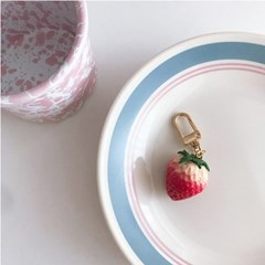Strawberry Keyring 딸기키링