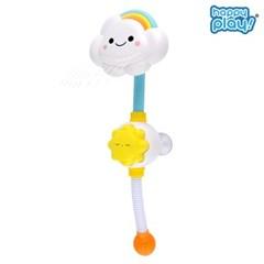 해피플레이 목욕놀이 무지개 아기 구름 샤워기 물놀이 장난감