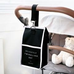 코니테일 슬링 파우치 - 인디블루 (기저귀파우치 유모차정리함 가방)