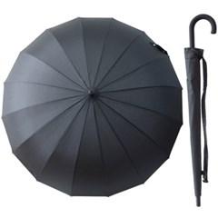 A0477 블랙 심플 장우산
