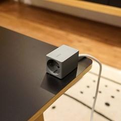 브런트 코드-1구 USB 휴대용 멀티탭