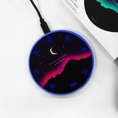 AURORA MOONLIGHT PINK - 무선충전 트윙클패드